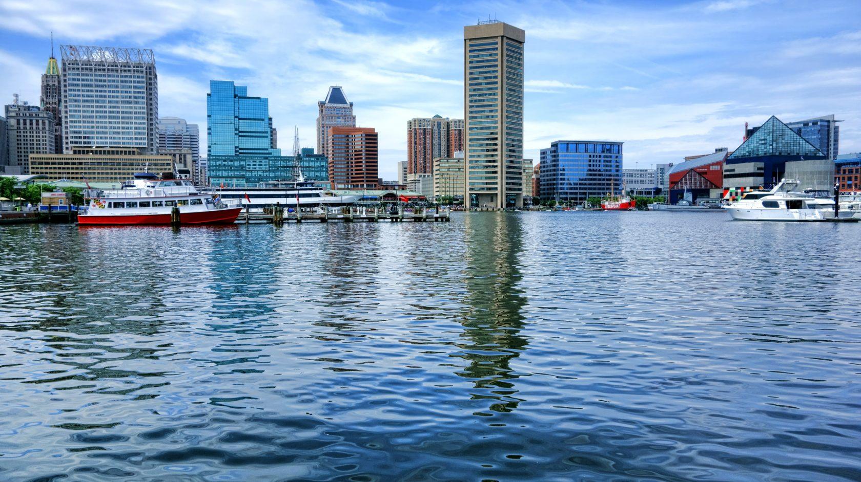 Baltimore Water Taxi Hotel RL Baltimore Inner Harbor