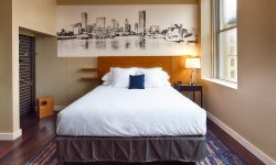 Hotel RL Baltimore Guest Room featuring Baltimore-Inspired Art