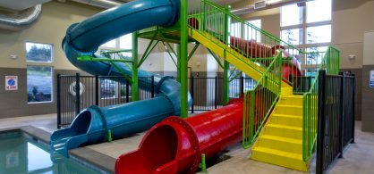 Slide, Splash and Stay With Us Package