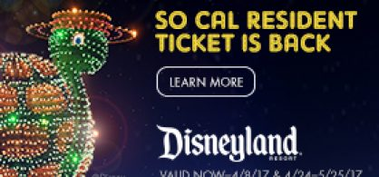 SoCAL Resident Ticket Sale