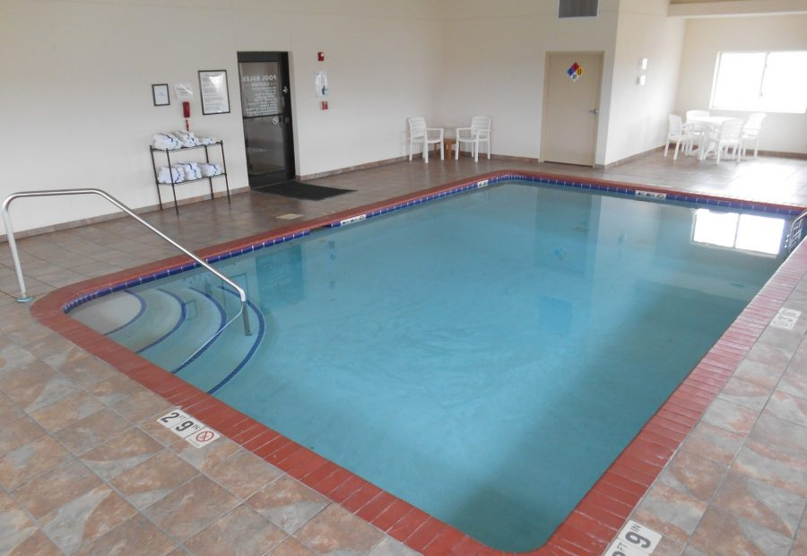 Pool Time is All Year Around at Settle Inn Harlan