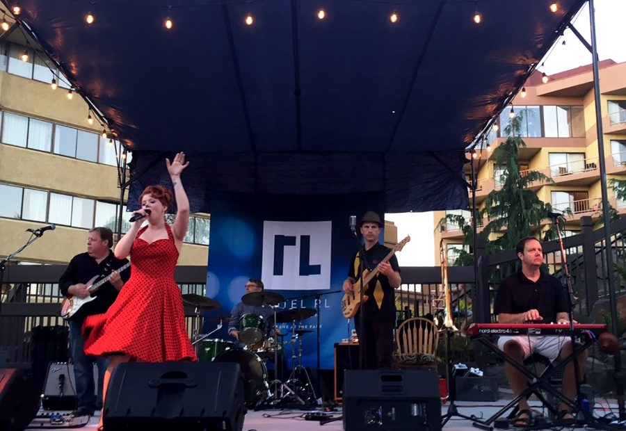 Outdoor Living Stage Performance at Hotel RL Spokane at the Park
